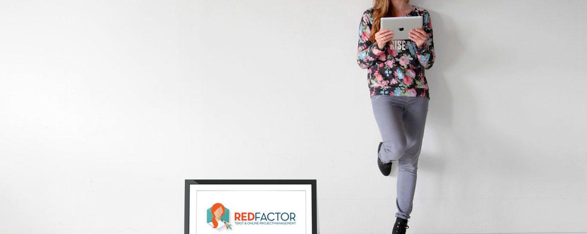 REDFACTOR tekst en online management