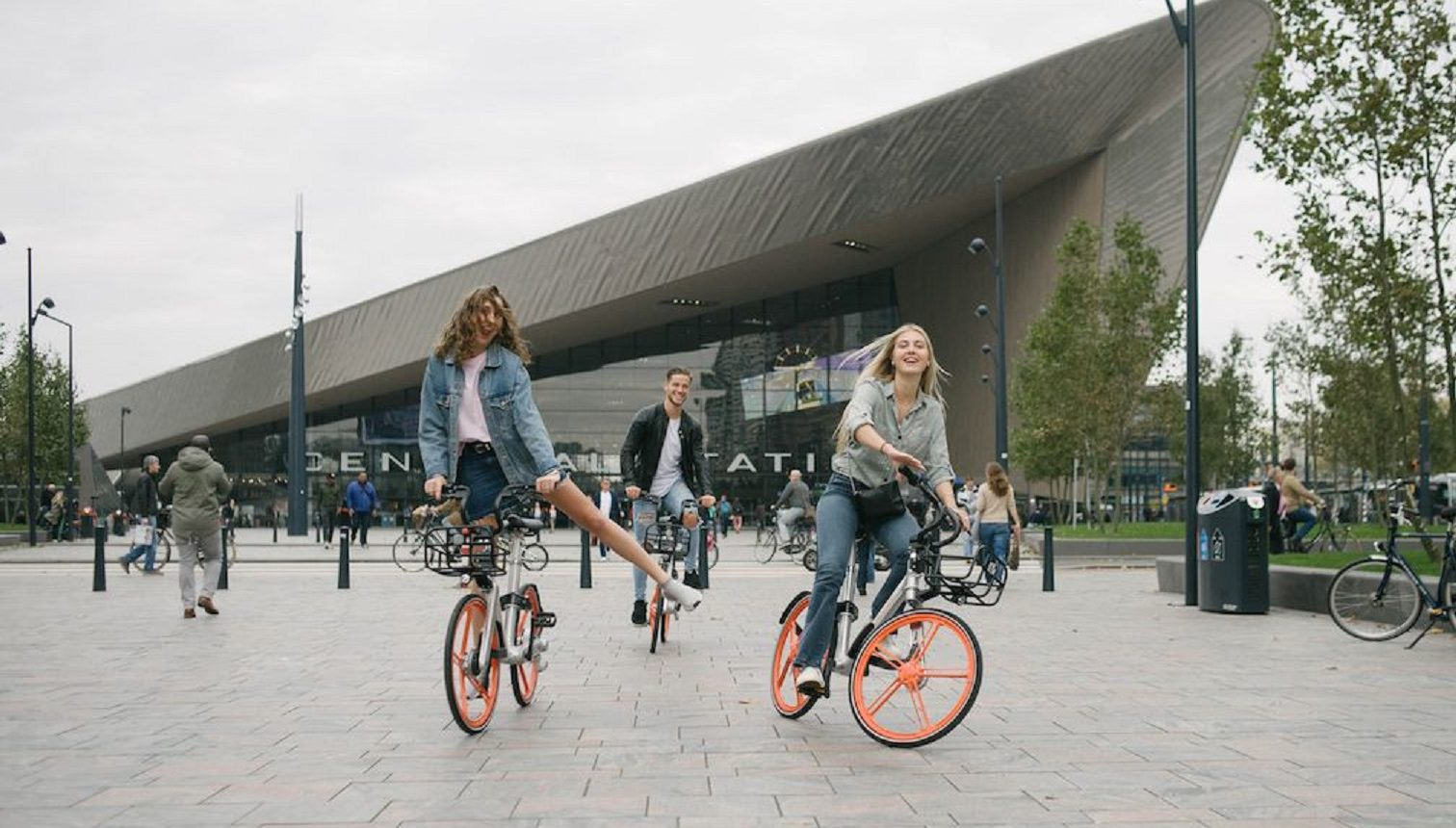 Mobike in Rotterdam