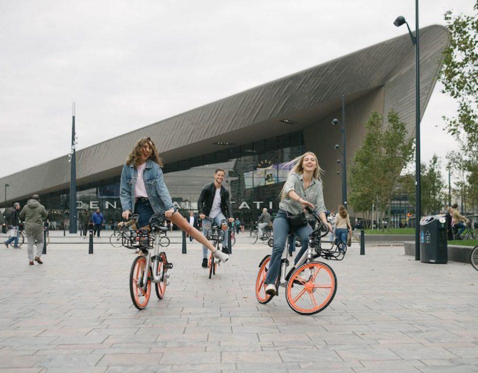 Mobike in Rotterdam