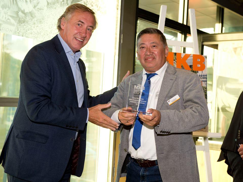 uitreiking award Rotterdamse netwerker van het jaar