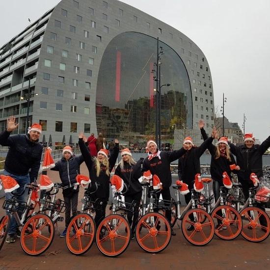 Mobike Rotterdam promotie