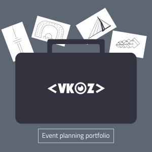 Event planning portfolio VKOZ Rotterdam