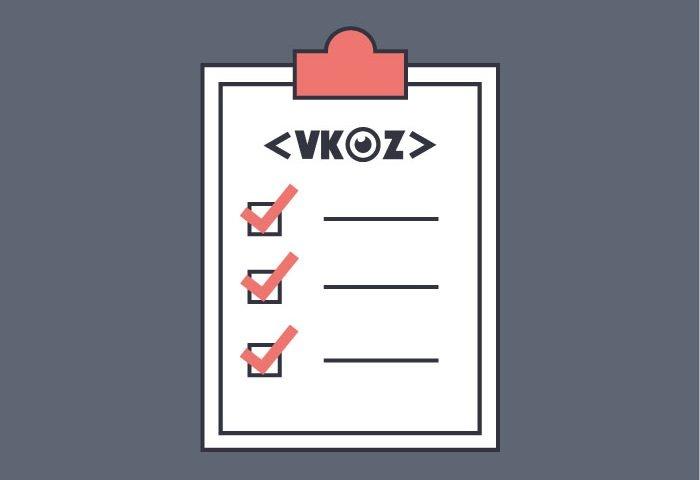 VKOZ events checklist