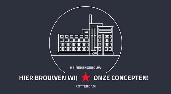 VKOZ in het Heinekengebouw in Rotterdam