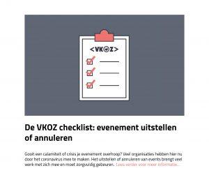 VKOZ checklist